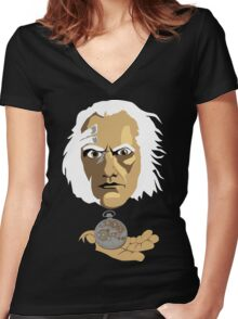 Chameleon Arch Women's Fitted V-Neck T-Shirt