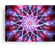 Crimson Lotus Canvas Print