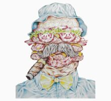 if Bill Murray was a Triple Bacon Cheeseburger by cahill  wessel