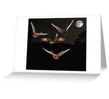 Night Fever Greeting Card