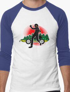 Go, Franky, Go! Men's Baseball ¾ T-Shirt