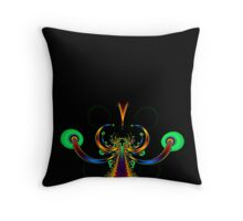 The Road Along the Tree of Life No7 Throw Pillow