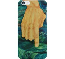 Consequence be mindful of what you say and do   iPhone Case/Skin
