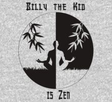 Billy the Kid is Zen T-Shirt Kids Clothes