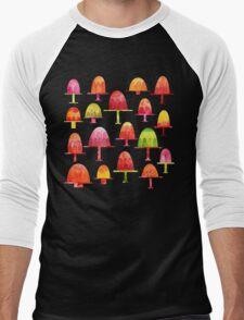 Jellies on Plates Men's Baseball ¾ T-Shirt