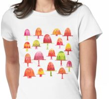 Jellies on Plates Womens Fitted T-Shirt