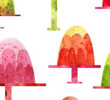 Jellies on Plates Sticker