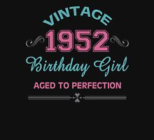 Vintage 1952 Birthday Girl Aged To Perfection Womens Fitted T-Shirt