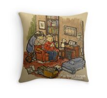 Sherlock, John, & The Baker Street Babes 2 Throw Pillow