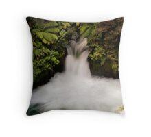 Kaituna falls Throw Pillow