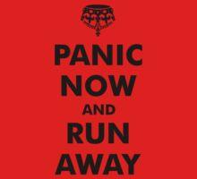 Panic Now & Run Away One Piece - Long Sleeve