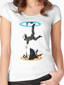 Infinite Loop Women's Fitted Scoop T-Shirt