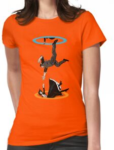 Infinite Loop Womens Fitted T-Shirt