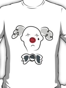 Portrait of a sad clown  T-Shirt
