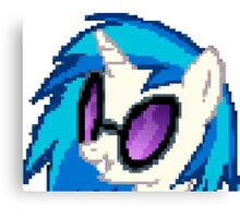 DJ PON3 Pixel My Little Pony Brony Pegasister Canvas Print