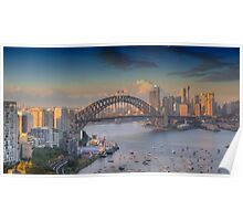 In Living Colour - Sydney Harbour, Sydney Australia - The HDR Experience Poster