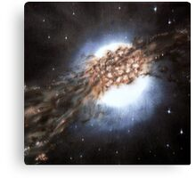 Centaurus A - Galaxy Cannibalism Canvas Print