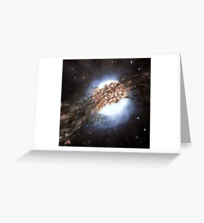 Centaurus A - Galaxy Cannibalism Greeting Card