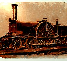 Early Locomotive of the GWR by Dennis Melling