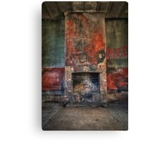 Ben Bullen's waiting Canvas Print