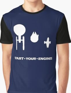 Start Your Engines Graphic T-Shirt
