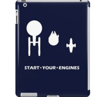 Start Your Engines iPad Case/Skin