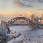 In Living Colour (Variation) - Sydney Harbour, Sydney Australia - The HDR Experience by Philip Johnson