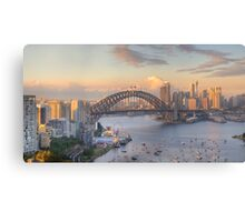 In Living Colour (Variation) - Sydney Harbour, Sydney Australia - The HDR Experience Canvas Print