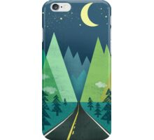 the Long Road at Night iPhone Case/Skin