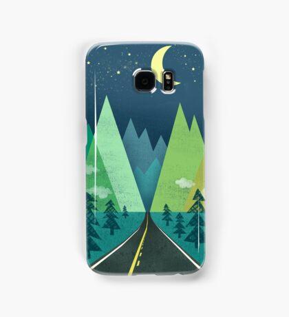 the Long Road at Night Samsung Galaxy Case/Skin