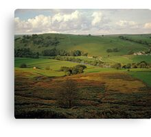 Yorkshire Dales, England, UK, 1980s. Canvas Print