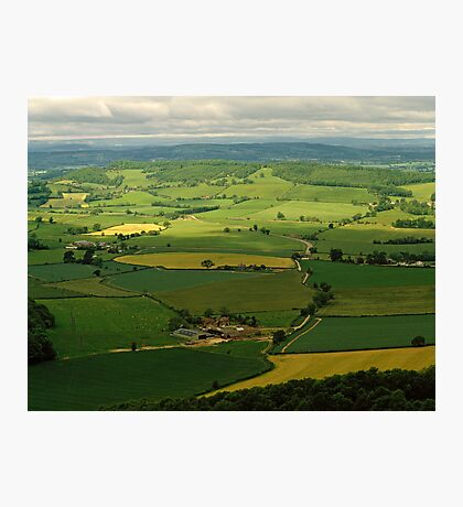 West Country landscape, England, UK, 1980s Photographic Print