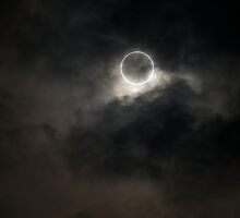 Total Eclipse; Tokyo, Japan by Adrian Riordan