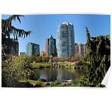 Vancouver - Coal Harbour Flats Poster