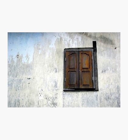 A lonely window Photographic Print
