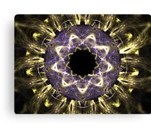 Blue Golds Canvas Print
