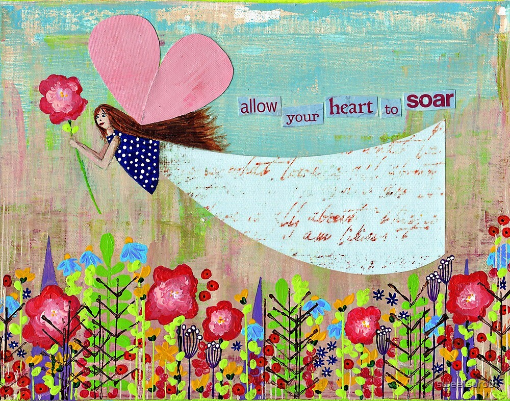 Allow Your Heart To Soar by sweetsprout
