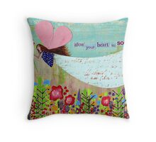 Allow Your Heart To Soar Throw Pillow