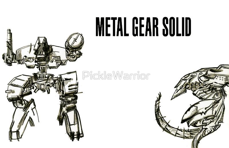 Metal Gear Solid  by PickleWarrior