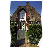 Holiday Cottage, Föhr, Germany. Poster