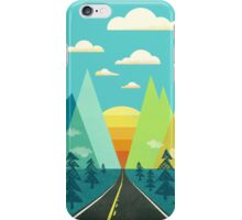 the Long Road iPhone Case/Skin