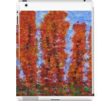 026 Red Trees iPad Case/Skin