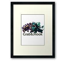 Blitzcrank and Thresh - Grab & Hook Framed Print
