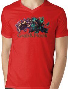 Blitzcrank and Thresh - Grab & Hook Mens V-Neck T-Shirt
