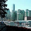 Vancouver - Stanley Park - A Jogger's View of the City by rsangsterkelly