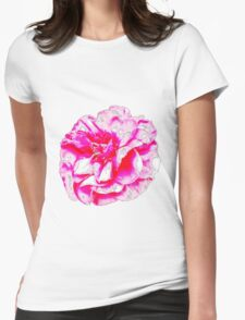 Bollywood floral Womens Fitted T-Shirt