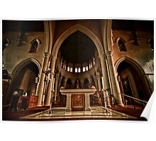 St Mary of the Angels Interior Poster