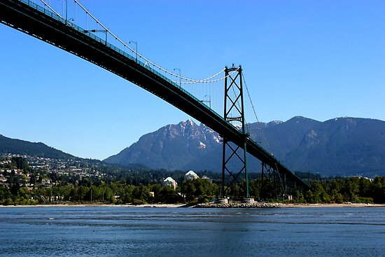Vancouver - Stanley Park - Lion's Gate Bridge by rsangsterkelly