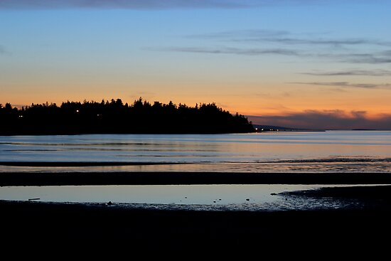 Parksville Beach - The Beach & Sunset by rsangsterkelly