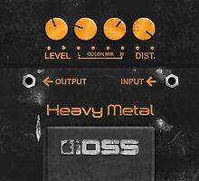 Boss Heavy Metal Pedal  by Alisdair Binning